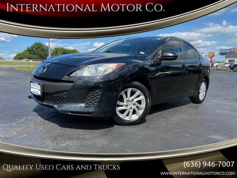 2012 Mazda MAZDA3 for sale at International Motor Co. in St. Charles MO