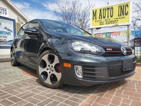 2012 Volkswagen GTI for sale at M AUTO, INC in Millcreek UT
