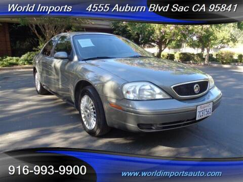 2003 Mercury Sable for sale at World Imports in Sacramento CA