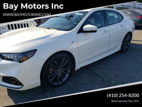 2018 Acura TLX for sale at Bay Motors Inc in Baltimore MD