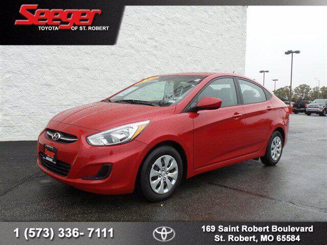 2017 Hyundai Accent for sale at SEEGER TOYOTA OF ST ROBERT in St Robert MO