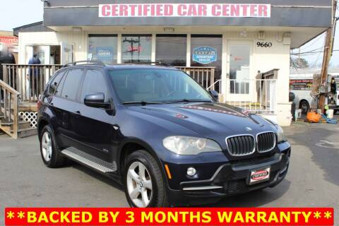 2009 BMW X5 for sale at CERTIFIED CAR CENTER in Fairfax VA