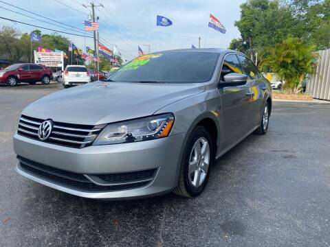 2014 Volkswagen Passat for sale at RoMicco Cars and Trucks in Tampa FL