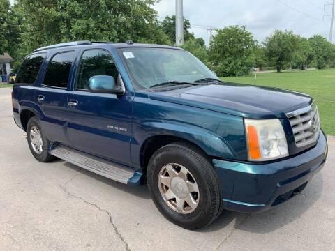 2005 Cadillac Escalade for sale at C.J. AUTO SALES llc. in San Antonio TX