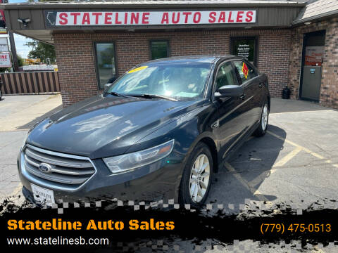 2014 Ford Taurus for sale at Stateline Auto Sales in South Beloit IL