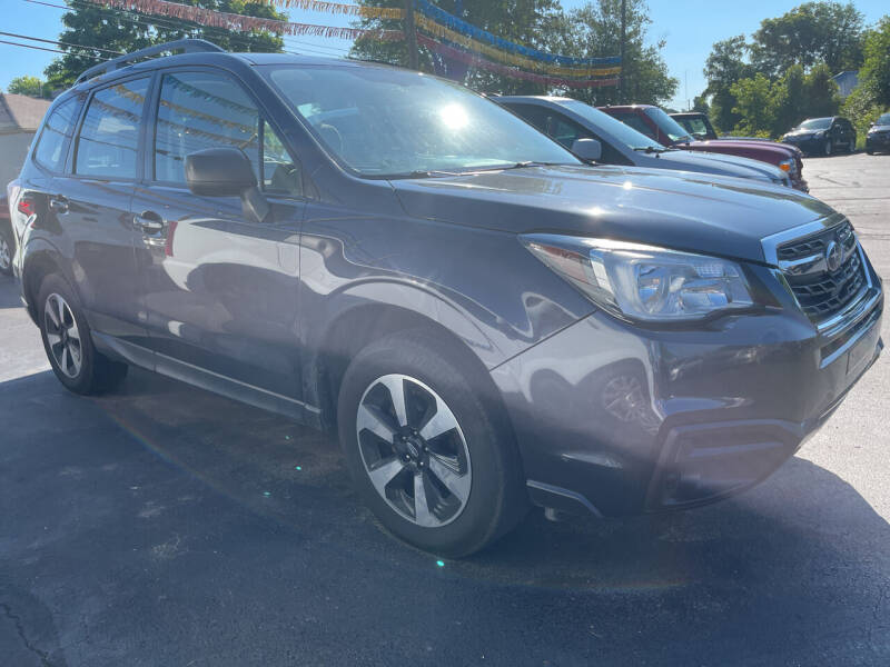 2018 Subaru Forester for sale at Auto Exchange in The Plains OH