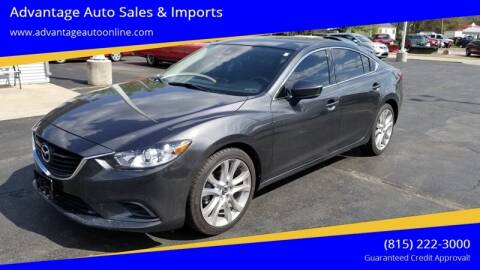2017 Mazda MAZDA6 for sale at Advantage Auto Sales & Imports Inc in Loves Park IL