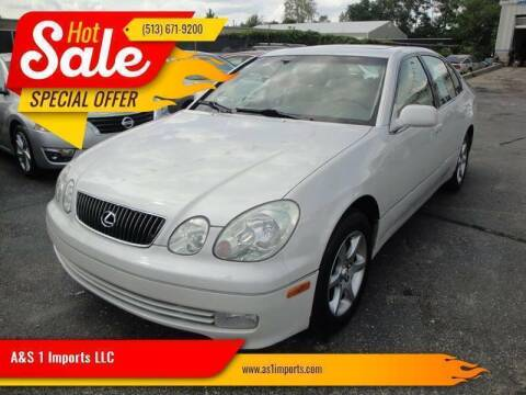 2004 Lexus GS 300 for sale at A&S 1 Imports LLC in Cincinnati OH