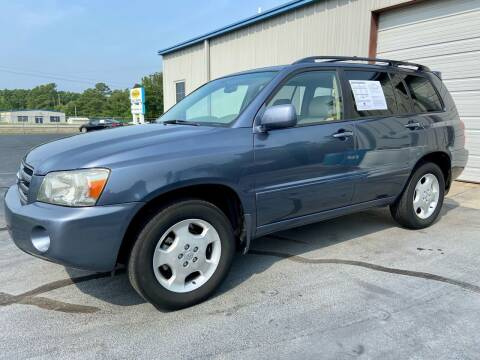 2007 Toyota Highlander for sale at Vanns Auto Sales in Goldsboro NC