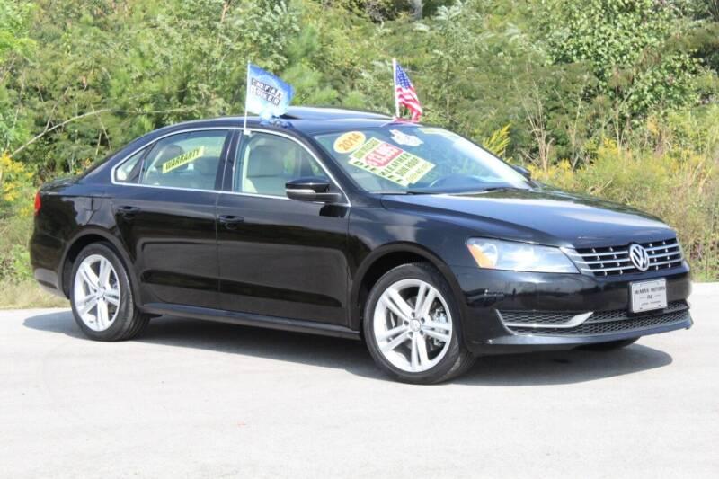 2014 Volkswagen Passat for sale at McMinn Motors Inc in Athens TN