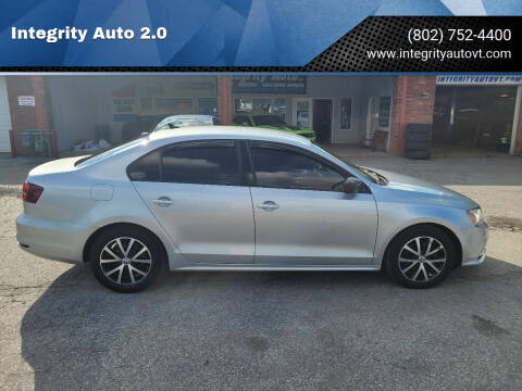 2016 Volkswagen Jetta for sale at Integrity Auto 2.0 in Saint Albans VT