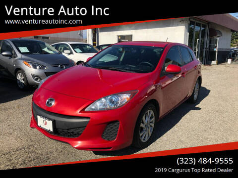 2013 Mazda MAZDA3 for sale at Venture Auto Inc in South Gate CA