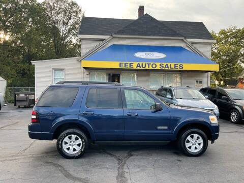 2008 Ford Explorer for sale at EEE AUTO SERVICES AND SALES LLC in Cincinnati OH