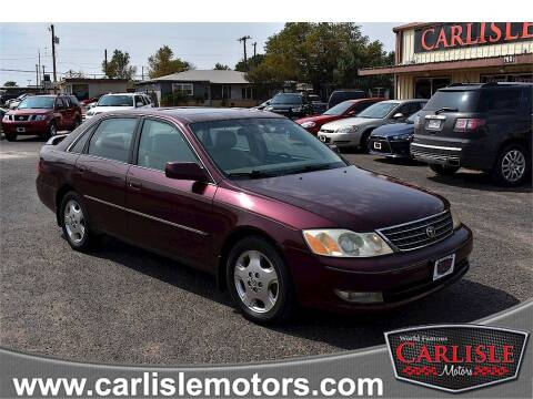 2004 Toyota Avalon for sale at Carlisle Motors in Lubbock TX
