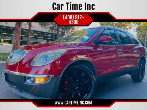 2012 Buick Enclave for sale at Car Time Inc in San Jose CA