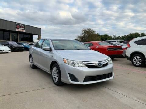 2012 Toyota Camry Hybrid for sale at KIAN MOTORS INC in Plano TX