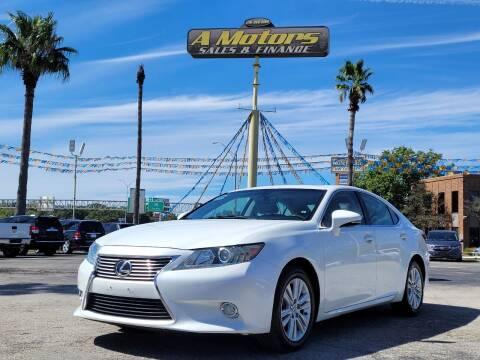 2013 Lexus ES 350 for sale at A MOTORS SALES AND FINANCE in San Antonio TX