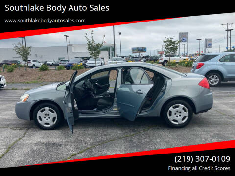 2008 Pontiac G6 for sale at Southlake Body Auto Sales in Merrillville IN