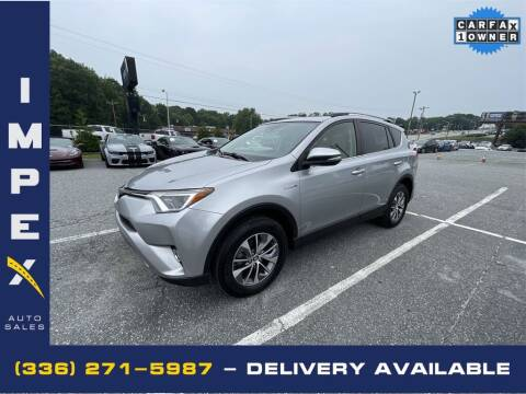 2017 Toyota RAV4 Hybrid for sale at Impex Auto Sales in Greensboro NC