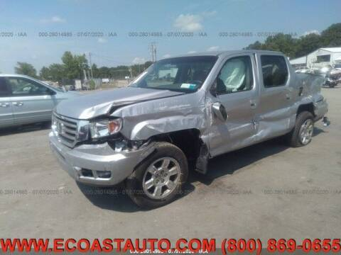 2012 Honda Ridgeline for sale at East Coast Auto Source Inc. in Bedford VA