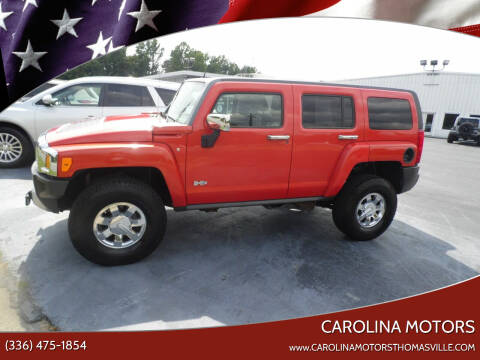 2009 HUMMER H3 for sale at CAROLINA MOTORS in Thomasville NC