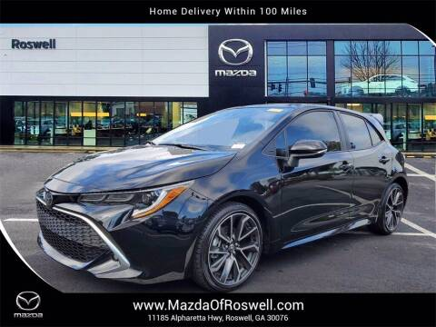 2019 Toyota Corolla Hatchback for sale at Mazda Of Roswell in Roswell GA