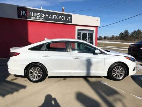 2015 Hyundai Sonata for sale at Hirschy Automotive in Fort Wayne IN