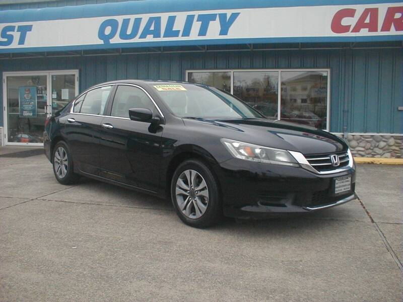 2014 Honda Accord for sale at Dick Vlist Motors, Inc. in Port Orchard WA