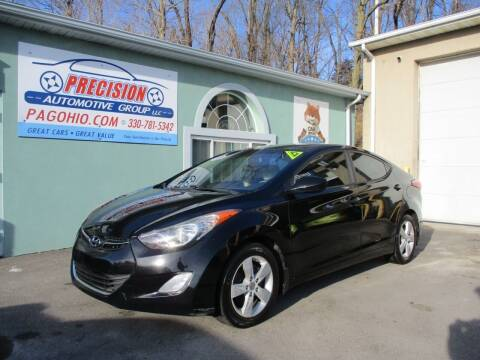 2012 Hyundai Elantra for sale at Precision Automotive Group in Youngstown OH
