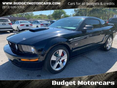 2007 Ford Mustang for sale at Budget Motorcars in Tampa FL