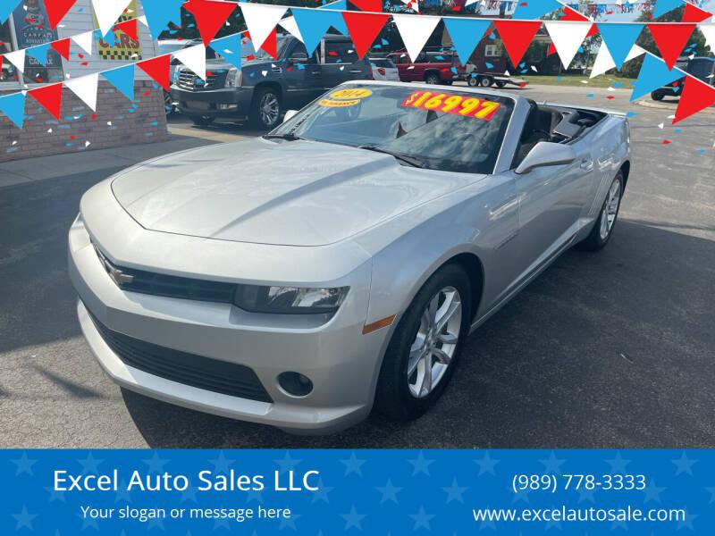 2014 Chevrolet Camaro for sale at Excel Auto Sales LLC in Kawkawlin MI