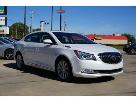 2016 Buick LaCrosse for sale at Autosource in Sand Springs OK