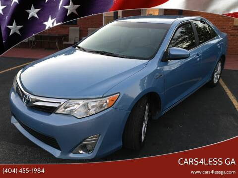 2012 Toyota Camry Hybrid for sale at Cars4Less GA in Alpharetta GA