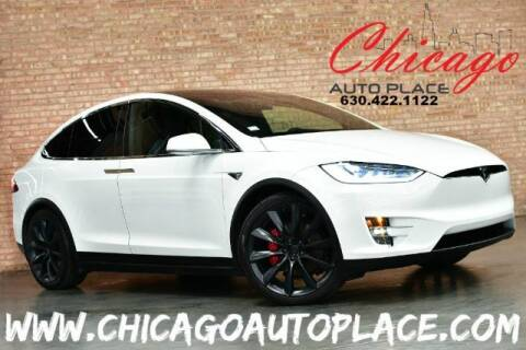 2018 Tesla Model X for sale at Chicago Auto Place in Bensenville IL