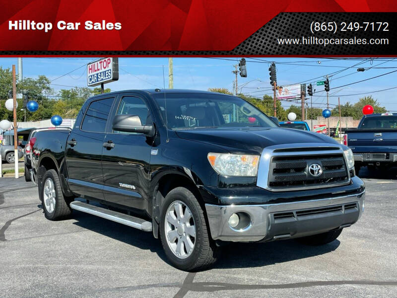 2010 Toyota Tundra for sale at Hilltop Car Sales in Knoxville TN