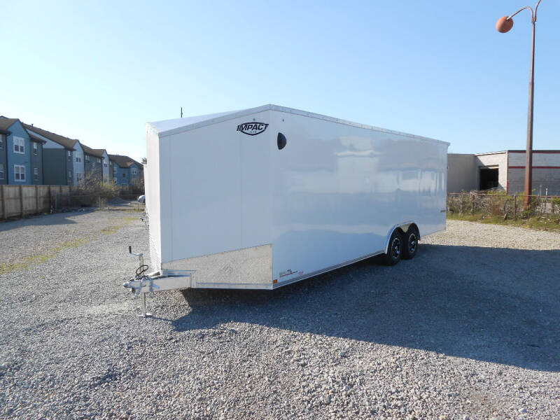 2022 Impact Shockwave 8.5x24 All Aluminum for sale at Jerry Moody Auto Mart - Trailers in Jeffersontown KY