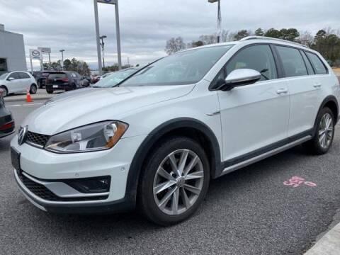 2017 Volkswagen Golf Alltrack for sale at CU Carfinders in Norcross GA