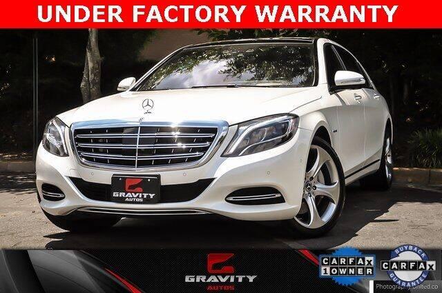 2017 Mercedes-Benz S-Class for sale at Gravity Autos Atlanta in Atlanta GA