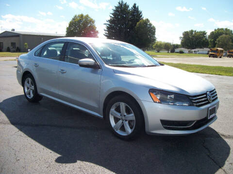 2014 Volkswagen Passat for sale at USED CAR FACTORY in Janesville WI