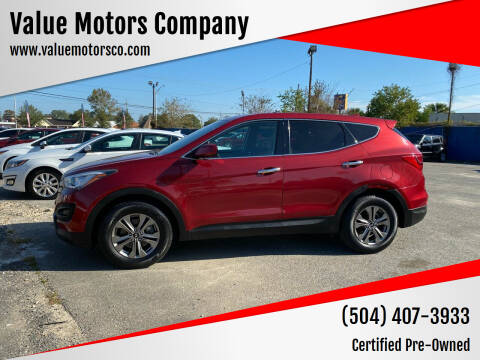 2016 Hyundai Santa Fe Sport for sale at Value Motors Company in Marrero LA