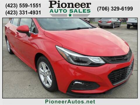 2017 Chevrolet Cruze for sale at PIONEER AUTO SALES LLC in Cleveland TN