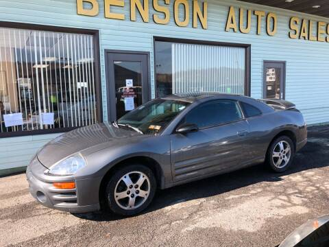 2004 Mitsubishi Eclipse for sale at Superior Auto Sales in Duncansville PA
