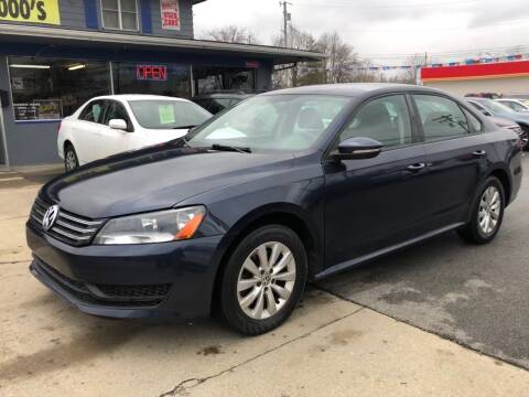 2012 Volkswagen Passat for sale at Wise Investments Auto Sales in Sellersburg IN