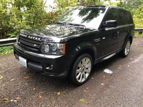 2013 Land Rover Range Rover Sport for sale at Maharaja Motors in Seattle WA