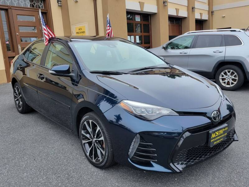 2017 Toyota Corolla for sale at ACS Preowned Auto in Lansdowne PA