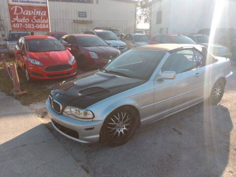 2001 BMW 3 Series for sale at DAVINA AUTO SALES in Casselberry FL