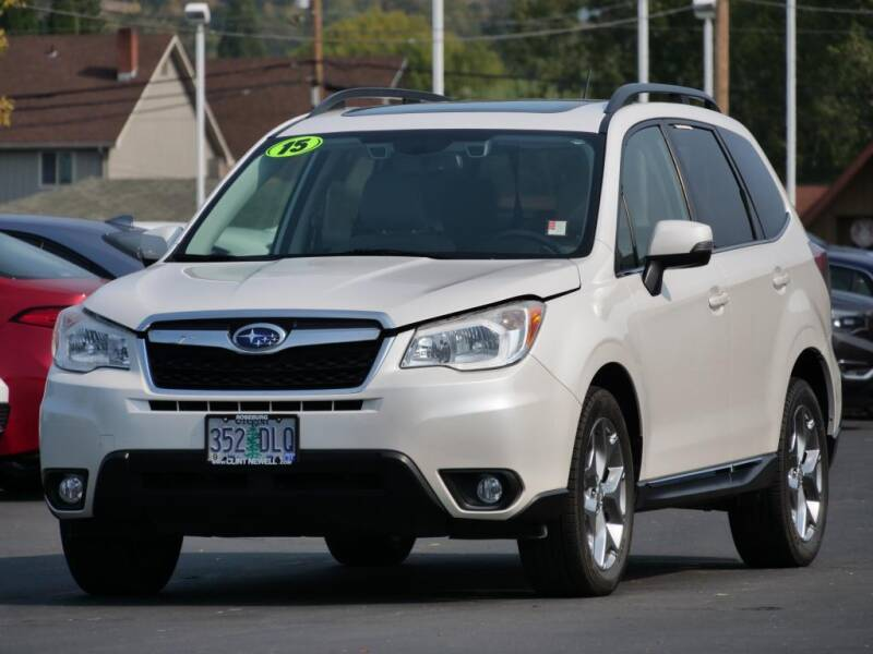 2015 Subaru Forester for sale at CLINT NEWELL USED CARS in Roseburg OR