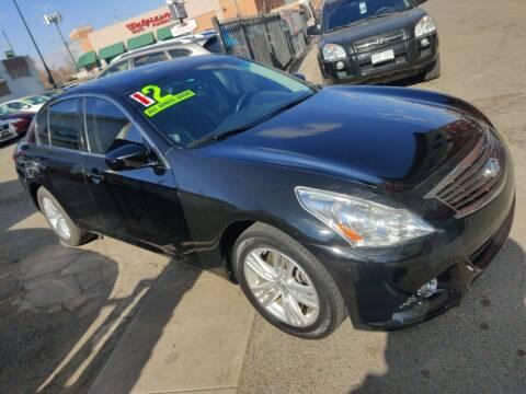 2012 Infiniti G25 Sedan for sale at Sanaa Auto Sales LLC in Denver CO