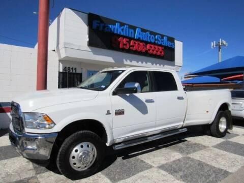 2011 RAM Ram Pickup 3500 for sale at Franklin Auto Sales in El Paso TX