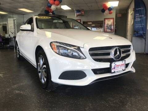 2015 Mercedes-Benz C-Class for sale at PAYLESS CAR SALES of South Amboy in South Amboy NJ